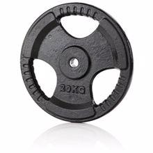 Železna disk utež 30mm, 20 kg