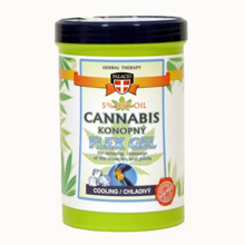 Cannabis FLEX cooling gel 380 ml
