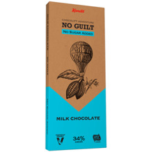 "Kandit Milk ""No sugar added"" Chocolate, 80 g"