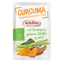 Kurkuma s limunskom travom, zelenim paprom i dodatnim začinima, 20 g