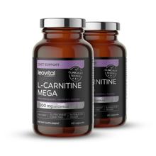 L-Carnitine Mega, 60 kapsul, -50% na drugega