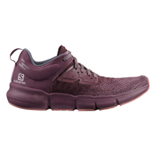 Salomon Predict SOC Women's Shoes, Flint/Wine Tasting/Brick Dust