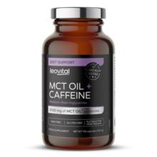 MCT Oil + Caffeine, 90 kapsula