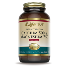 Calcium 500+Mg 250, 100 tablet
