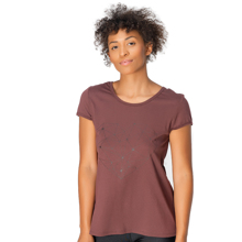 Maia T-Shirt, Maroon