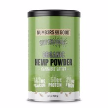 Hemp Protein Powder, Organic, 500 g