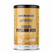 Psyllium Husks Powder, Organic, 250 g