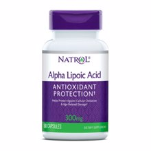 Alfa Lipoična kislina, 300 mg, 50 kapsul