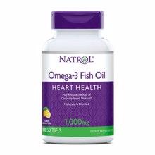 Omega 3 Fish Oil 1000 mg, 90 softgelov