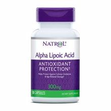 Alpha-Liponsäure, 300 mg, 50 Kapseln