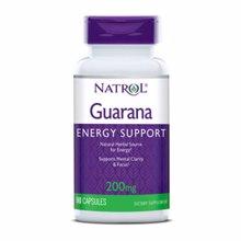 Guarana 200 mg, 90 kapsula