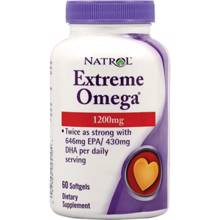 Extreme Omega, 60 softgelov