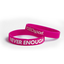Motivationsarmband, Silikon, Never Enough