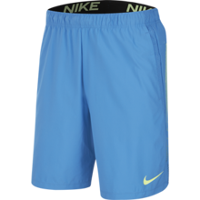 Nike Training Flex 2.0 Shorts, Pacific Blue/Black/Green