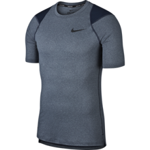 Shirt Nike Pro Breathe SS Obsidian/Heather/Black