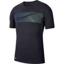 Shirt Training SS Graphic 2.0 Obsidian/White