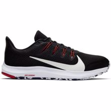 Nike Quest 2 Running Shoe, Black/White/Red