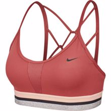 Nike Indy Women's Light Support Sports Bra, Cedar/Black