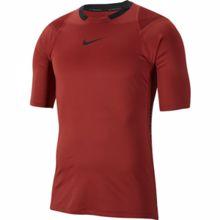 Nike Pro AeroAdapt SS Training Top, Red/Black