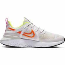 Nike Legend React 2, Women's Running Shoes, Platinum Tint/Total Orange