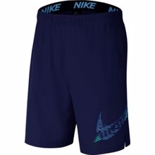 Nike Training Flex 2.0. Graphic Shorts, Blue Void