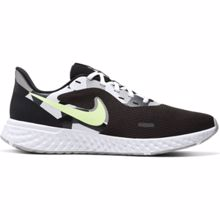 Nike Revolution 5 Running Shoe, Black/White/Ghost Green