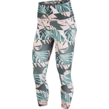 Nike Fast Crop Runway Women's Leggings, Pink/Reflective Silver