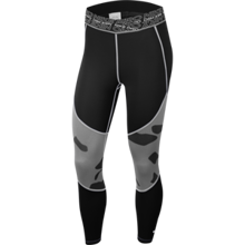 Nike Pro Cropped Women's Leggings, Black/White
