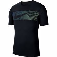 Nike Graphics Training SS Shirt, Black/White