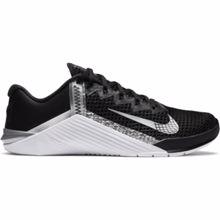 Nike Metcon 6 Women's Training Shoe,  Black/Metallic Silver
