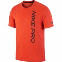 Nike Pro Short-Sleeve Top, Orange/Mystic Dates
