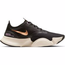 Nike SuperRep GO Women's Shoes, White/Black/Metallic Copper