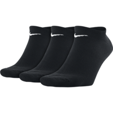 Nike Cushioned No-Show Sock, 3 Pair, Black