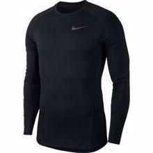 Nike Pro Warm Compression Top, Black/Dark Grey