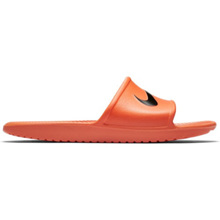 Nike Men's Kawa Shower Slide, Orange/Black