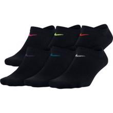Nike Women's Lightweight No-Show Training Socks (6 Pair), Multicolor