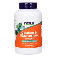 Calcium & Magnesium + D-3 + Zinc, 120 kapsula