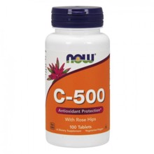 C-500, with Rose Hips, 100 tablet