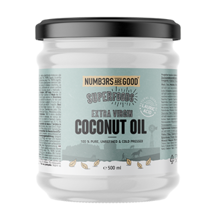 Extra Virgin Organic Coconut Oil, 500 ml
