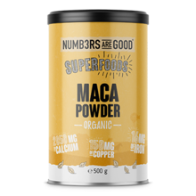 Maca Powder, Organic, 500 g