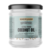 Extra Virgin Coconut Oil, Organic, 500 ml
