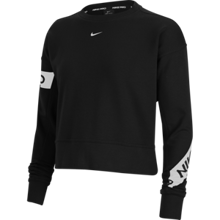Nike Pro Dri-Fit Get Fit Women's LS Shirt, Black/White