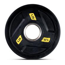 Olimpijski 3-Grip Gumirani Disk Uteg, 1,25 kg