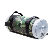 Rebel Fitness Camouflage Powerbag Siva, 5 kg