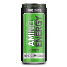 Amino Energy RTD, Lemon Lime, 330 ml