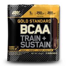 Gold Standard BCAA, Train + Sustain, 19 g