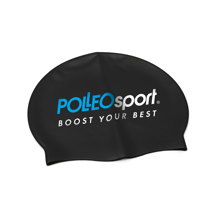 Kapa za plavanje, Polleo Sport, črna