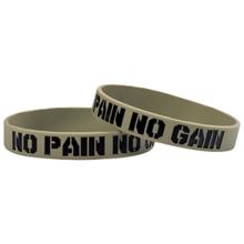 Narukvica motivacijska, No Pain No Gain