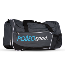 Polleo Sport Gym Star Duffle Bag, Gray