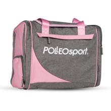 Polleo Sport Posh Workout Bag, Melange/Rose